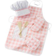 Kid Kraft Tasty Treats Chef Accessory Set, Pink With 6 Pieces