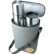 Úti termosz készlet táskával Isosteel VA-9600B (710076)