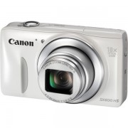 Aparat foto digital Canon Powershot SX600 HS : 16 MPx, 18x Zoom, LCD 3, Full HD - Alb