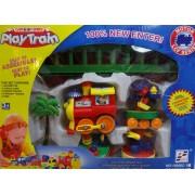 Elemes vonat pálya szett - Play Train No.18008C