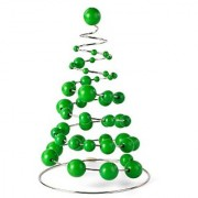 Milani Christmas Tree on a Spring Green