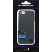Husa TnB Clipon iPhone 5 + screen protection - black