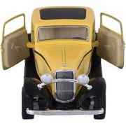 Kinsmart Die-Cast Metal 1932 Ford 3 Window Coupe (Yellow)