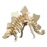 Puzzle eco 3D din lemn Stegosaurus Pebaro