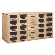 Nordal Apotek sidobord - 25 lådor