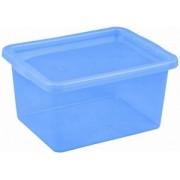 Cutie depozitare cu capac 48 litri albastru inchis