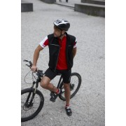 Pánská cyklistická vesta James & Nicholson Men's Bike Vest