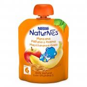 Nestle NaturNes piure mar, banana si ovaz 90g