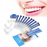 rosegal Dental Whitening Teeth Bleaching Kit with Mini LED Light Beauty Gadget