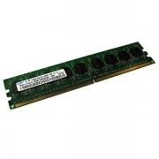 Ram Barrette Mémoire SAMSUNG 512Mo DDR2 PC2-5300U 667Mhz M378T6553EZS-CE6 CL5