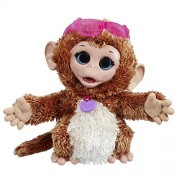FurReal Friends Happy to See Me Pets Baby Cuddles, My Giggly Monkey Pet Plush