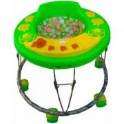 Oh Baby 3 Musical light Apple Shape Green Color Walker For Your Kids SE-W-48