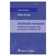 Institutii europene. Schimbari si adaptari din perspectiva extinderii UE.