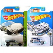 Scion Hot Wheels + Ford Fiesta Exclusive Zamac Edition - Evasive Silver Scion FR-S model Set in PROTECTIVE CASES