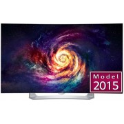"Televizor LED LG 139 cm (55"") 55EG910V, Full HD, Ecran Curbat, Smart TV, 3D, OLED, webOS 2.0, Triple XD Engine, WiDi, WiFi Direct, CI+ + Lantisor placat cu aur si pandantiv in forma de inel gravat"