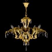 Candelabru cristal Bohemia 5 brate, diam.72cm KALA V. CE