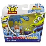Alien & Sparks: Toy Story Color Splash Buddies 2-Mini-Figure Pack
