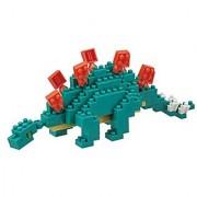 KAWADA Nanoblock 240 Piece 3D Puzzle Stegosaurus / NBC-113 over 130 pieces