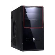 Inwin Z637 - Case Micro ATX senza viti e senza PSU, colore: Nero