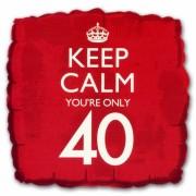 Cadeau ballon keep calm your 40