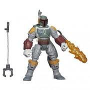Hasbro - B3667 - Hero Mashers - Star Wars - Boba Fett - Figura Personalizable 15 cm + Accesorios