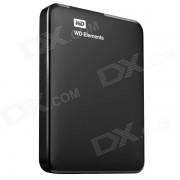 WD 2TB elementos WD portatil USB 3.0 de almacenamiento en disco duro (WDBU6Y0020BBK-NESN)