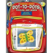 Dot-To-Dots, Puzzles, and Games, Homework Helpers, Grades PreK-1 by Frank Schaffer Publications