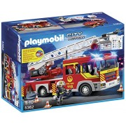Playmobil 5362 - Autoscala Dei Vigili Del Fuoco con Luci e Suoni [Novità 2014]
