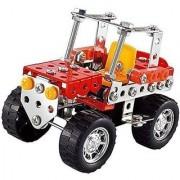 Easy Gift Car Metal Brick DIY Model Construction Set Educational Toy 3D Laser Cut Stainless Steel Metal Models Block Kit