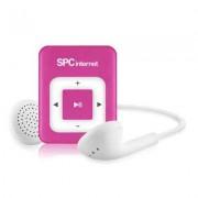 SPC Reproductor MP3 4GB Clip 8244P rosa