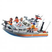 Playmobil Rescue with Boat Water Hose