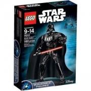 Сглобяема фигура Лего Стар Уорс - Дарт Вейдър - LEGO Star Wars, 75111