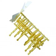 MagiDeal Scientist Walking Strandbeest Model Kit DIY Science Puzzle Children Educational Science Toys Wind Powered