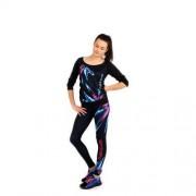 Spokey Farfala - Bluzka fitness rękaw 3/4; r.S