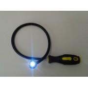 Recuperator magnetic flexibil cu LED