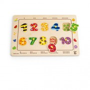 """Hape E1500 - Puzzle """"Abbina I Numeri"""""""