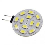 6W G4 LED-spotlampen 12 SMD 5730 570 lm Natuurlijk wit DC 12 V