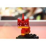 Lego Movie Super Angry Kitty Minifigure