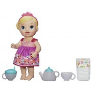 Baby Alive Lil' Sips Baby Has a Tea Party Doll (Blonde) by Baby Alive
