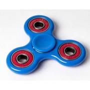Fidget Spinner Met 4 Lagers - Blauw