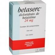Betaserc 24mg Com 30 Comprimidos