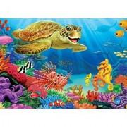 Cobble Hill Undersea Turtle Jigsaw Puzzle 35-Piece