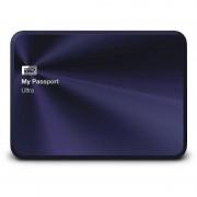 Hard disk extern WD My Passport Ultra Metal Edition 2TB 2.5 inch USB 3.0 Blue Black