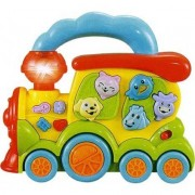 Animal Train Musical Toy For Toddlers With Realistic Sounds, Music, And Lights