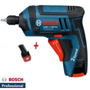 Akumulatorski odvrtač Bosch GSR Mx2Drive Proffesional 2 baterije