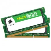 Memorie Corsair Value Select SODIMM 16GB (2x8GB) DDR3 1600MHz CL11 1.5V, Dual Channel Kit, CMSO16GX3M2A1600C11