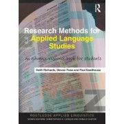 Research Methods for Applied Language Studies by Steven John Ross