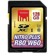 Strontium Nitro Plus 128GB SDXC Memory Card UHS-1/U3 up to 80 MB/S (SRP128GSDU1)