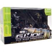 G.I. Joe Attack on the G.I. Joe Pit Headquarters Rise of Cobra TRU Exclusive