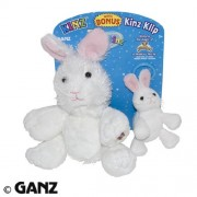 Webkinz Full Sized Rabbit & 'Kinz Klip Rabbit - 2 Piece Set [Toy]